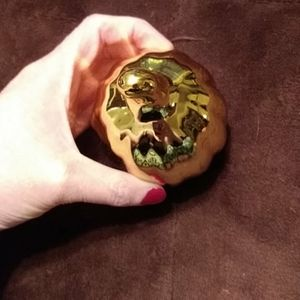 None Accents - Gold pumpkin for the holidays